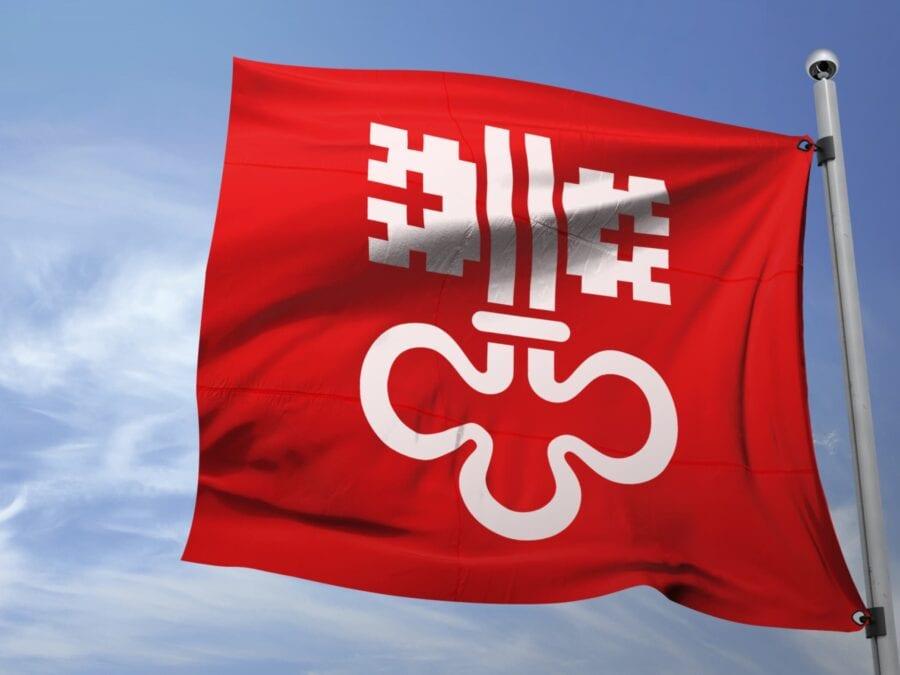 Kanton Nidwalden Fahne