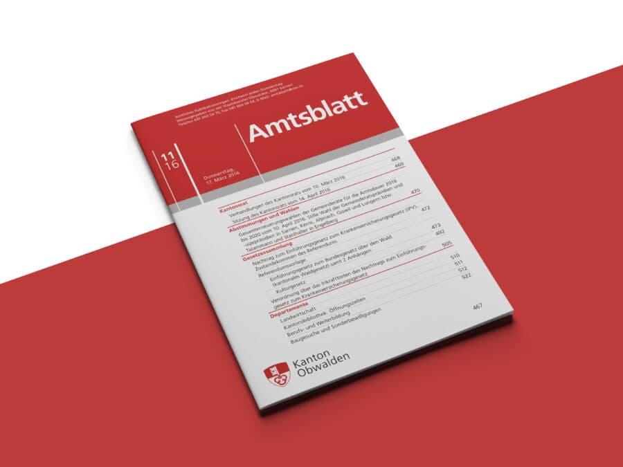 Amtsblatt Kanton Obwalden