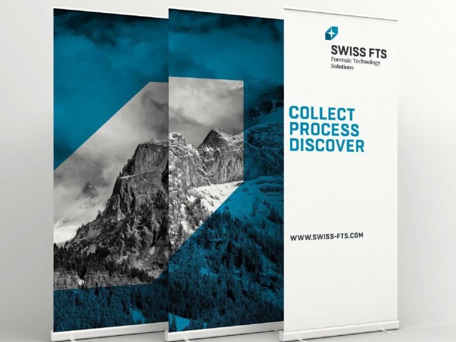 Swiss FTS Stelen Beschriftung