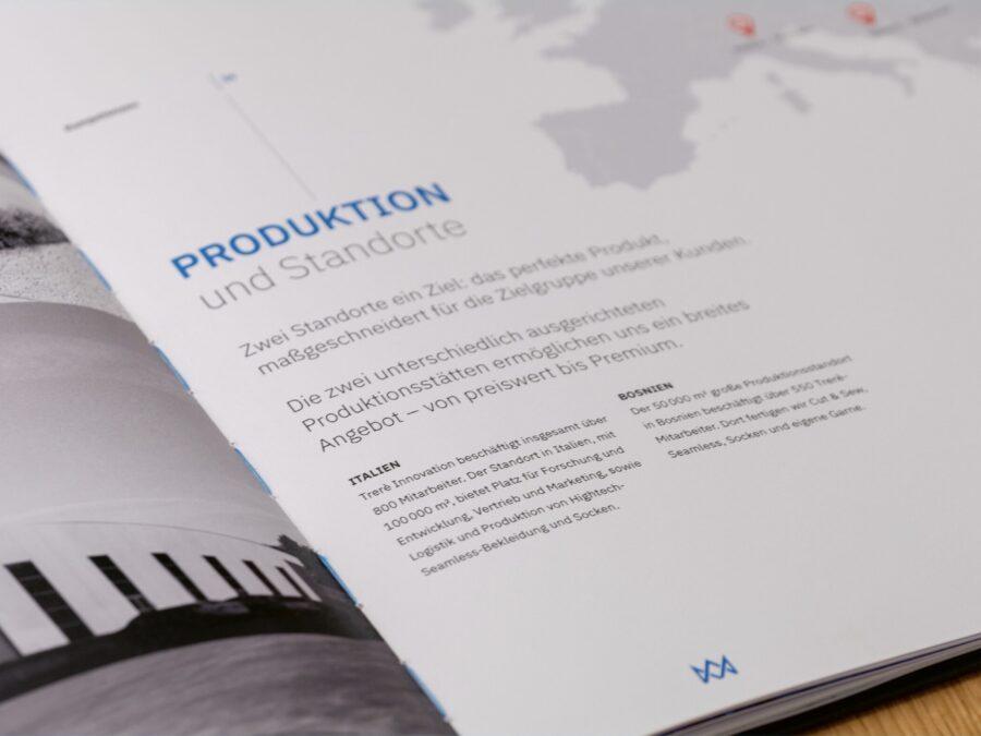 Aufwändigen Broschüre für Tere Innovation.