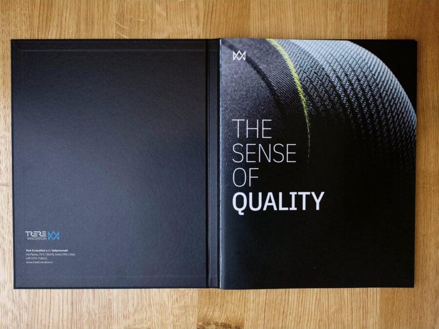 Titelseite der aufwändigen Broschüre für Tere Innovation